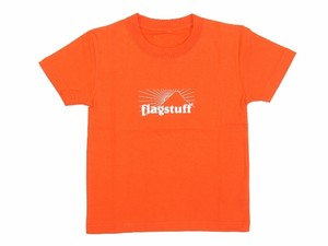 """BOX LOGO""Kids Tee ORANGE"