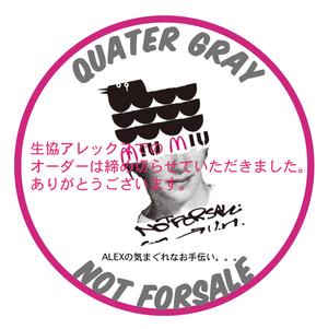 岡山県倉敷市の行政へ義援金 Tee (UH & Quater Gray)