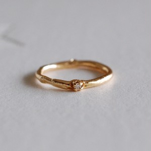 K18ピンキーリング/ダイヤモンド  [00945][00966]