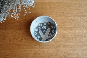 砥部焼/「小さな森」たたら作り小鉢/森陶房Kaori