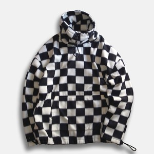 WCH Fleece Mock Turtle Pullover Shirts -Checkerflag