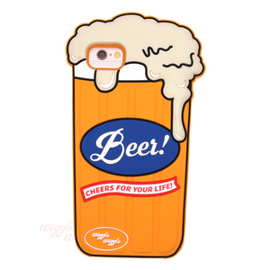 【iPhoneXS/X , SE(第2世代)8/7/6s/6】Funky cace - Beer