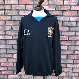 1990s Aston Villa F.C. Umbro Sweat Shirt / Large