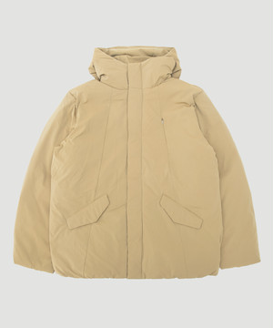 BUYTEN Limonta Hooded Down Blouson Beige BUY-T01