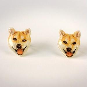 柴犬のピアス