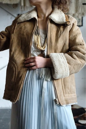 France mouton jacket