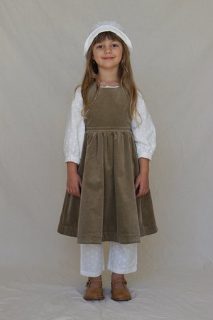 HOUSE OF PALOMA / Juliette Pinafore - Caper