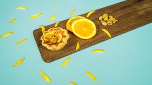 Naranja y Limón(オレンジとレモンのタルト)