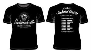 【Tシャツ】『Richard Smith Japan tour 2017バックプリント入り Nashsound ville Tシャツ 』