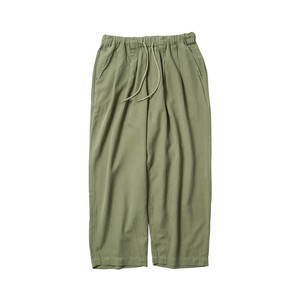 TIGHTBOOTH BAGGY LINEN PANTS OLIVE L タイトブース パンツ