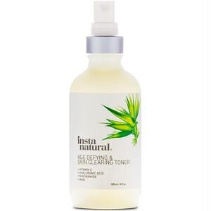 InstaNatural, Age-Defying & スキンクリーニング化粧水, Anti-Aging, 4 fl oz (120 ml)