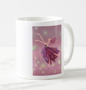 「花の妖精バレリーナ」イラスト入りマグカップ MC100408-009