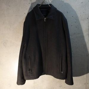 Zip Up Wool Jakcet