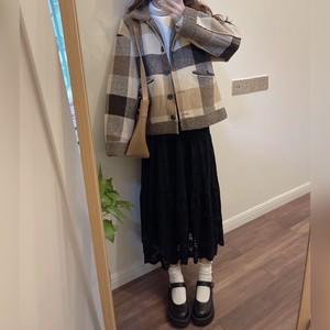 〈カフェシリーズ〉カフェに行きたくなるウールコート【Cafe wool coat】
