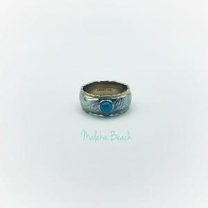 Hawaiian turquoise ring