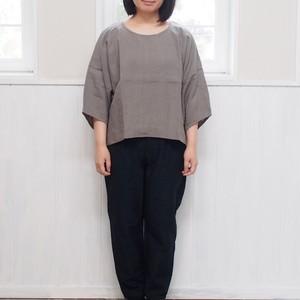 【YAMMA】 リネンバルーン袖シャツ BS-SH