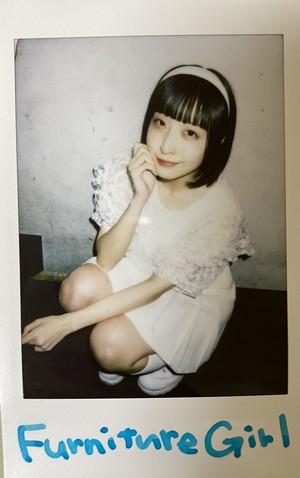 【Furniture  Girl衣装】早桜ニコ チェキ