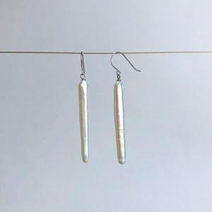 Stick Pearl Earrings