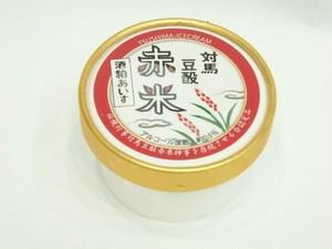 対馬豆酘赤米酒粕アイス【特定非営利活動法人對馬次世代協議会】