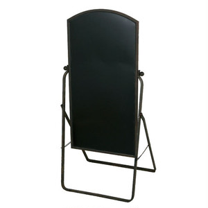 【S355-39】Folding sign board stand サインボード / アンティーク / シンプル