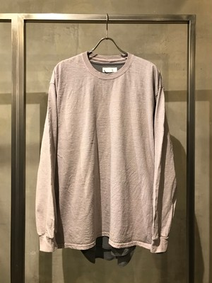 TrAnsference loose fit long sleeve T-shirt - subtle red