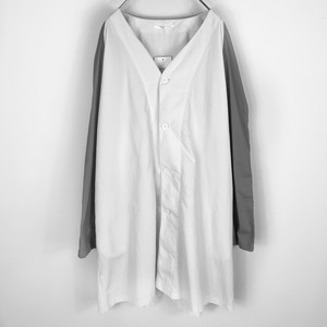 keisuke yoneda linerDesign shirt Gray×White