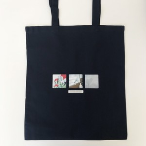 memory tote bag〈navy〉No.10