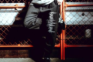 Sweat pants(Black)