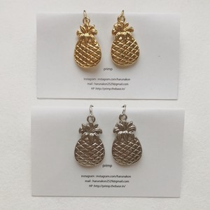151.pineapple pierce&earring