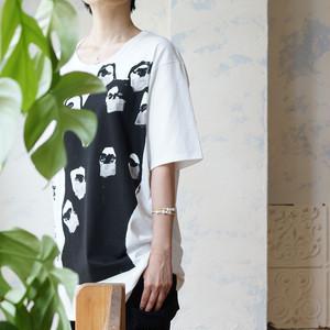 マスクマンロングTシャツ マスク付きTシャツ *nude: masahiko maruyama