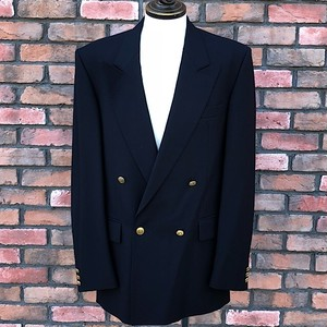 1980s Christian Dior Monsieur Double Breasted Blazer
