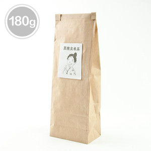 《当店人気No.1商品》ノンカフェインの黒焼き玄米茶(180グラム)