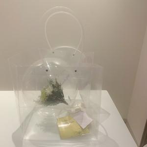 Clear bag(※バルーンは別売りです)