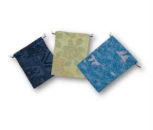 4 着物リメイク巾着3個セット
