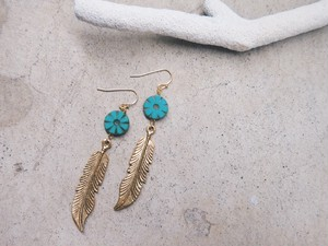 wings of indian turquoise pierce
