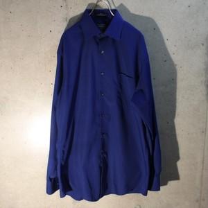 Royal Blue Poly Cotton Shirt