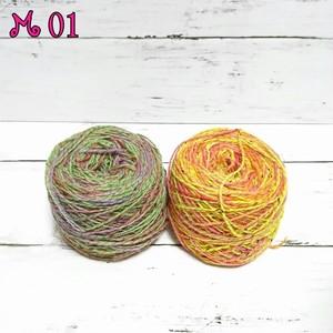 宇宙糸  ウール  2色セット M01