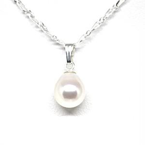 あこや本真珠のしずくのネックレスU