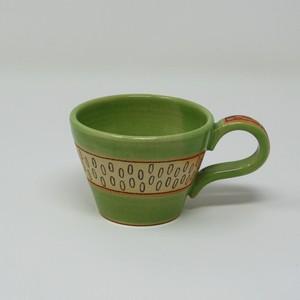 双子堂 カラフルマグカップ グリーン