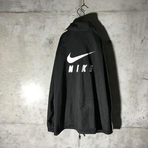 [used]big back NIKE logo track suit