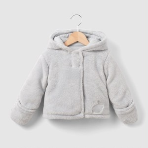 La Redoute R mini Hooded Polar Fleece Coat