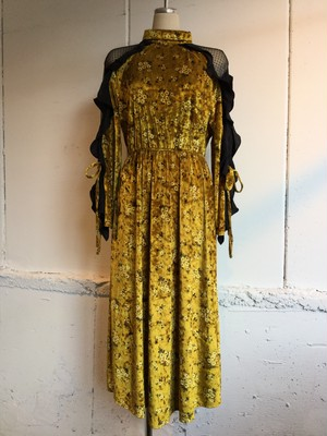 Sister Jane Gold Rush Midi Dress