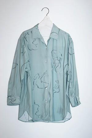 wryht - one piece collar blouse