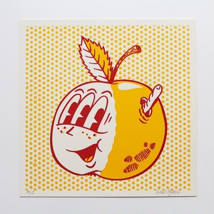 Vinnie Nylon/Adam Zapple screen print (RED)