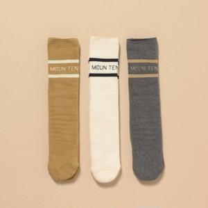 再入荷 MOUNTEN.   line socks キッズ〜大人サイズ兼用 MOUN TEN. [MT192015]