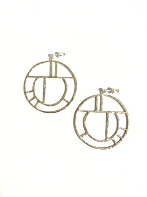 EG001S 【G-1 silver earrings】
