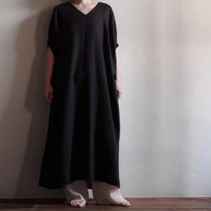 Select Item / French Linen Gather Sleeve Dress / フレンチ リネン ギャザー スリーブ ドレス