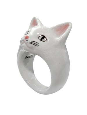 NACH アニマルリング 白猫