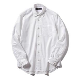 narifuri 隠しB.Dバイアスオックスシャツ