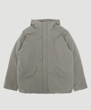 BUYTEN Limonta Hooded Down Blouson Khaki BUY-T01